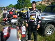 Szponzorált versenyzõnk, Matkaicsek Zoltán Polaris Racing Team versenyzõje második lett az ATV Romania Trophy quadversenyen!