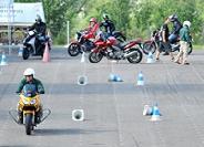Safety Hungary vezetéstechnikai tréning robogósoknak!