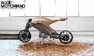 Az Audi a jövő motorkerékpárját tervezi.