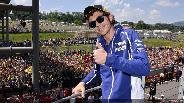 Rossi a mugellói sóderben