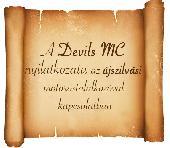 Ujszílvás Devils nélkül.