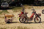 Magyarország első tűzoltó robogója