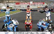 Spanyolok a MotoGP élén 2013-ban