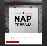 A NAP(V) tréfája