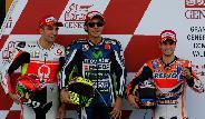 Az edzéselsőség ellenére mégsem Rossi győzött Valenciában.