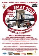 Április 11.-én vasárnap: EMAT 2010  Épített Motorok és Autók Találkozója