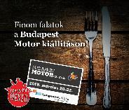Finom falatok a Budapest Motorkiállításon