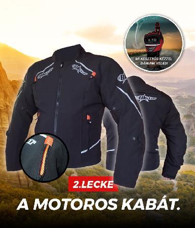 2.lecke: a motoros kabát
