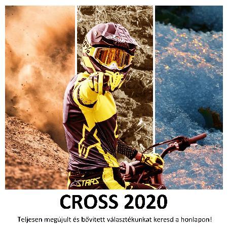 Már most víríthatsz a 2020-as, CROSS modellekben!