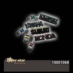 Kulcstartó Honda gumiembléma 10001068
