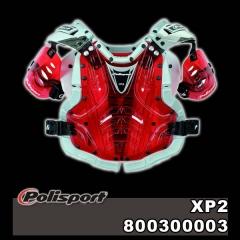 POLISPORT XP2, áttetsző crosspáncél, 80003