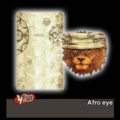 4 FUN csősál Afro Eye
