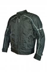 B-STAR AIR JACK, Fekete levehető héjú textilkabát PC-1611