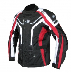 B-STAR ONE WAY textilkabát fekete-piros 4067