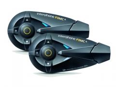 INTERPHONE  F3MC Twin Universal Bluetooth-os bukósisak kihangosító Team szett
