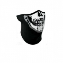 PARTS E. neoprén maszk skull