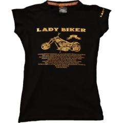 CHOPPERS DIVISION női, rövidujjú póló, Lady Biker