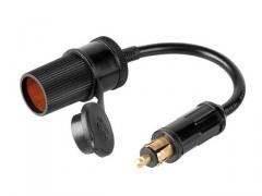 Adapter   Szivargyújtó aljzat - DIN dugó   (kábeles)