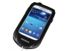 Interphone tartó GALAXYS4-hez   (burkolt kormányra)
