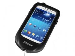 Interphone tartó GALAXYS4-hez   (csőkormányra)
