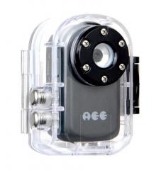 AEE MD91S sisakkamera vízhatlan tokkal, rögzítőszettekkel