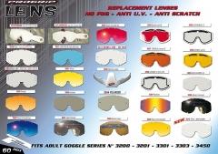PROGRIP Szemüveglencse páramentes, karcálló, UV szűrős (multi piros)