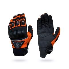 B-STAR Dakar, karbonprotektoros textil kesztyű, narancs (8096, GMC14)