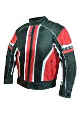 B-STAR AIR JACK, levehető héjú textilkabát piros színben