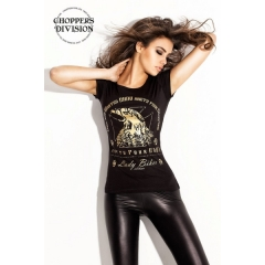 CHOPPERS DIVISION női rövid ujjú póló, Golden Eagle
