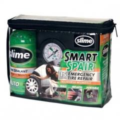 Slime defektjavító, gumitömítő pótkerék helyett (kompresszor + tömítőszer 16oz./473 ml