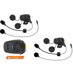 SENA SMH-5FM-DUAL Bluetooth sztereó kommunikációs szett FM RÁDIÓVAL