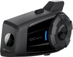 SENA 10C EVO Prémium kommunikációs rendszer ÉS 4K kamera egyben