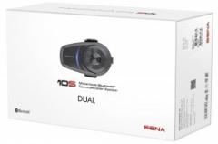 SENA 10S-DUPLA SZETT Bluetooth 4.1 sztereó kommunikációs szett univerzális mikrofon kittel