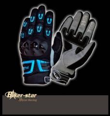 B-STAR Plus keményprotektoros textil kesztyű, PRO