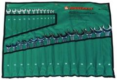 Jonnesway csillag-villáskulcs, 26 db-s készlet 6-32mm-ig