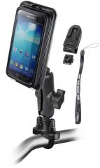 Ram Mount Aqua Box® Pro 20 vízhatlan telefon/GPS tartó komplett felszerelő készlettel