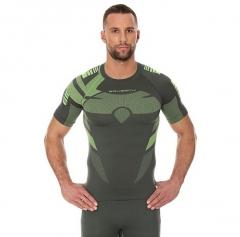 Brubeck Body Guard Dry férfi, rövidujjú technikai felső zöld