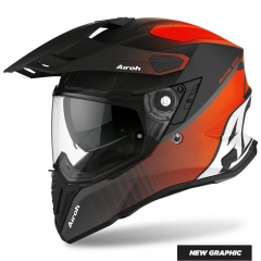 AIROH Aviator 2.2 Phillips Orange Matt, off road bukósisak