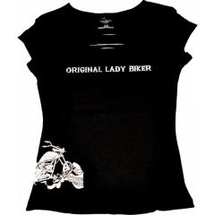 CHOPPERS DIVISION rövid ujjú női póló, Original Lady Biker
