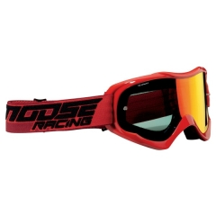 MoseRacing Qualifier Cross szemüveg Piros