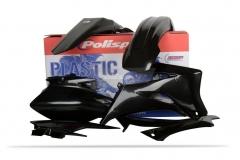Polisport kit WRF250/450 '07 Fekete