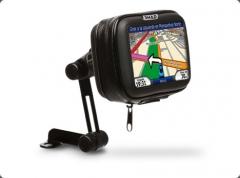 SHAD GPS tartó 4,3 coll méretű készülékekhez, tükör alá rögzíthető