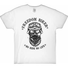 CHOPPERS DIVISION rövid ujjú férfi póló, Freedome Biker