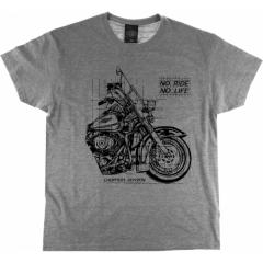 CHOPPERS DIVISION rövid ujjú férfi póló, Outline