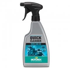 MOTOREX Quick Cleaner (gyorstisztító, bukó, rostély, műanyag idomok...) 500ml