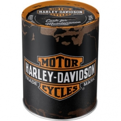 "Harley-Davidson ""Genuine"" persely"