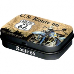 """Route 66"" pill box"