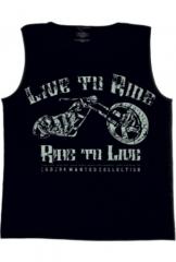 CHOPPERS DIVISION férfi trikó, No Ride No Life