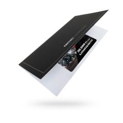 Ajándékkártya csomagolás vásárlási utalványkártyákhoz