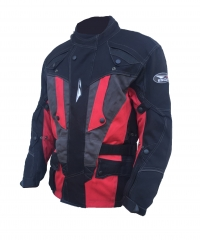 Textil kabát ESQJ EAGLE fekete-piros